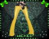 :W: Witty Yellow Pants
