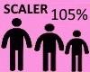 Scaler 105%
