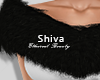 ❤ Layerable Fur Black