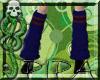*Pipa* Loose Socks Raven