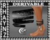 3Moons Bangle Anklet-Lft
