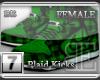 [BE] Green Plaid|Kicks F