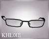 K NY BLack glasses