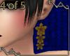 VA ~ Gold Lily Earrings