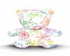 [KC]Rainbow Swirl Teddy