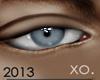 XO. c$shOUT Lt Blu