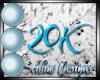 {s} 20K Support Sticker