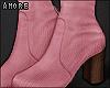 $ Pink Booties