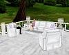 Wedding Patio Sofa Set
