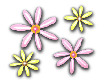 SPRING FLOWERS STICKER