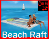 Beach Raft Love Pose an.