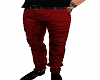RED MALE PANTS