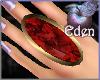 EDEN Dainty RubyG Ring