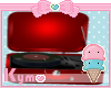 (K) Red record player