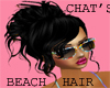 Beach hair {black}