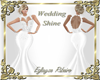 Wedd shine white