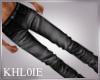 K ken leather pants