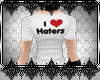 *D™ I <3 Haters Shirt M