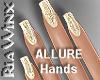 Wx:Glitter Nail Gold