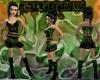 [FCS] Green Blk Stiletto