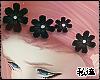 ダ. flower crown blk