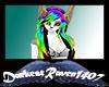 Rainbow n Blk Vibe Hair