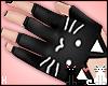 [KISA]BlackKittyGloves