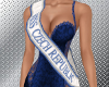 Miss Czech Republic sash