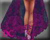 (DC)Elegant Shawl Purple