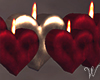 Be Mine Heart Candles