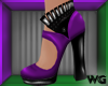 Sweet Glitz Heels Purple