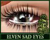 Elven Sad Unisex Silver