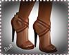 BnR Brown Strap Heels