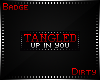 !D Tangled In U Badge