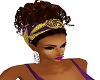 Sexy Purple Hair Pinup