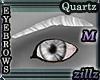 [zillz]M Brows White Qtz