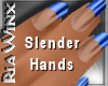 Wx:Slender Dk Blue Tip