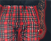 I│Plaid Pants Red
