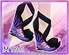 ᶬ Anime Kimono Wedges