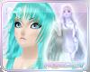 H  Anime Hair Mint Aqua