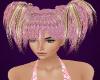 Pink Glitter Hair