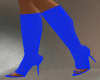 (a) blue fishnet boots t