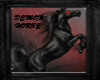 Demon Horse sticker