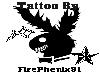 Hourglass Belly Tattoo
