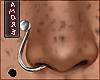 $ Silver Nose Piercing R