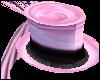! Pink & Black Top hat !