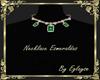 necklace esmeraldas