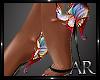 AR* Butterfly Sandals De