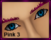 Hot Pink Eyebrows 3