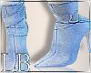Caution Jean Boots